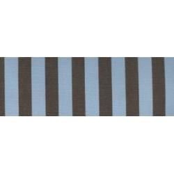 Acrisol Egeo C-1041 Celeste-Marron Oscuro