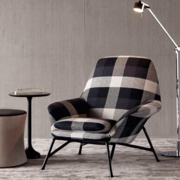 12 sillones tapizados con telas que enamoran - Tela tapiceria sofa ...